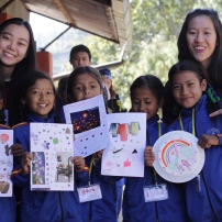 Teaching children about creativity, arts and telling time